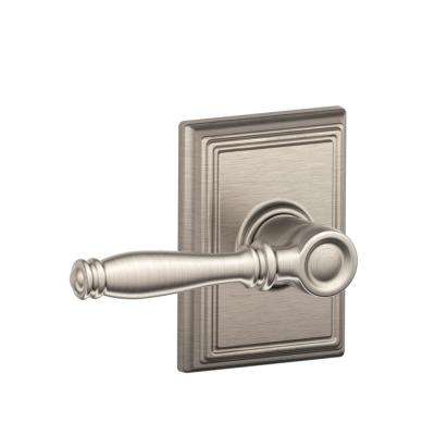Addison Collection Birmingham Satin Nickel Bed and Bath Lever