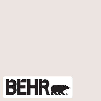 Behr Premium Plus 1 Gal Rd W07 Cave Pearl Flat Low Odor Interior Paint And Primer In One 105001 The Home Depot