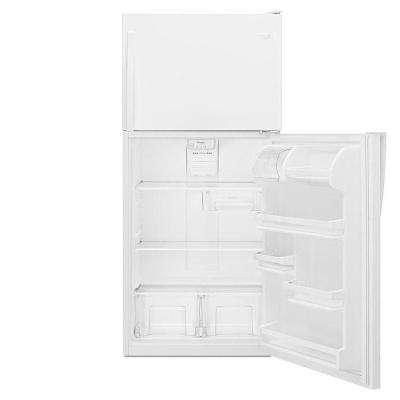 18.2 cu. ft. Top Freezer Refrigerator in White
