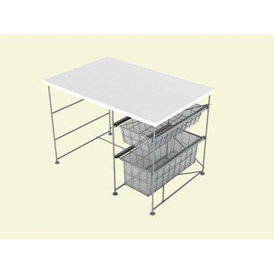 Youth Activity White Desk-DISCONTINUED