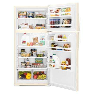 14.3 cu. ft. Top Freezer Refrigerator in Biscuit
