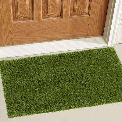 Arcadia 1 ft. 8 in. x 2 ft. 7 in. Artificial Grass Indoor/Outdoor Turf Green Rug