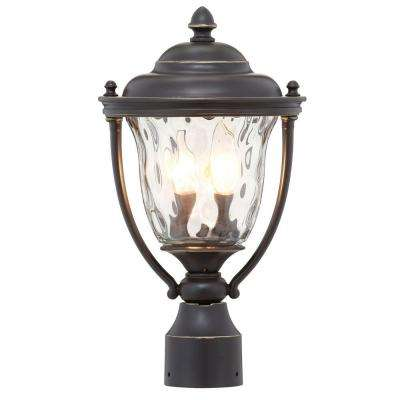 Prestwick Collection 2-Light Oil-Rubbed Bronze Outdoor Post Lantern