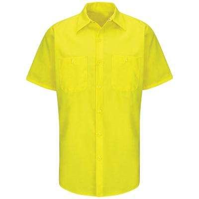 Men's Yellow Rip-Stop Shirt