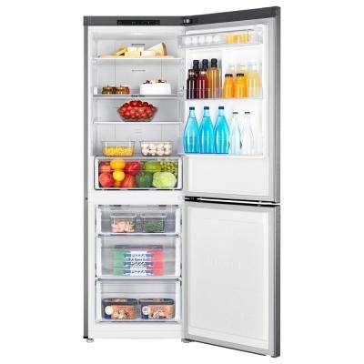 24 in. 11.3 cu. ft. Bottom Freezer Refrigerator in Fingerprint-Resistant Stainless Steel