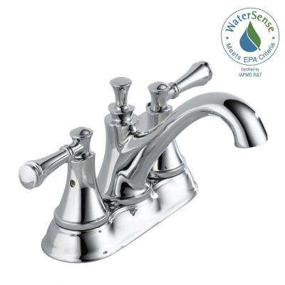 Silverton 4 in. Centerset 2-Handle Bathroom Faucet in Chrome