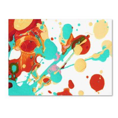 "24 in. x 32 in. ""Paint Party 3"" by Amy Vangsgard Printed Canvas Wall Art"