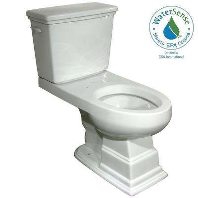 Structure Suite 2-Piece High Efficiency Elongated Toilet in White