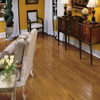 Bayport Oak Fawn 3/4 in. Thick x 2-1/4 in. Wide x Varying Length Solid Hardwood Flooring (20 sq. ft. / case)