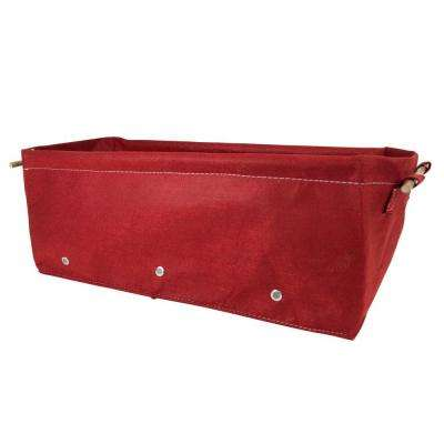 BloemBagz Raised Bed 12 Gal. Union Red Fabric Planter