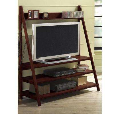 Torrence Dark Walnut 64 in. H Wide-Screen TV Stand-DISCONTINUED