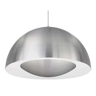 Karmis 1-Light 60-Watt Equivalence Brushed Nickel Integrated LED Pendant