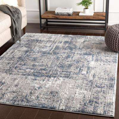 Dagmar Navy 5 ft. 3 in. x 7 ft. 3 in. Oriental Area Rug