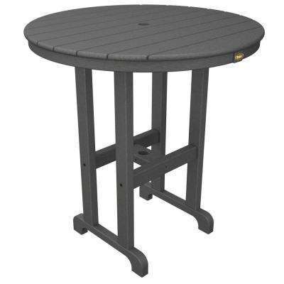 Monterey Bay 36 in. Stepping Stone Round Patio Counter Table