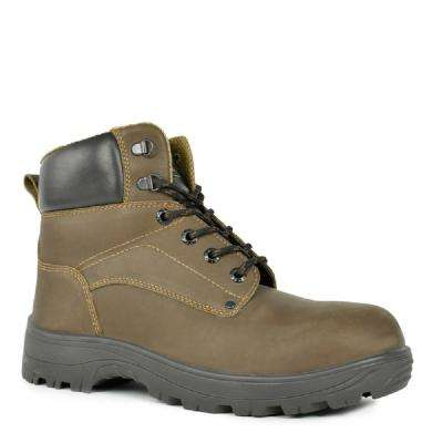 Gator Commander Men's Natural Leather Work Boot