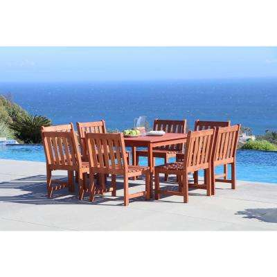 Malibu 9-Piece Square Patio Dining Set