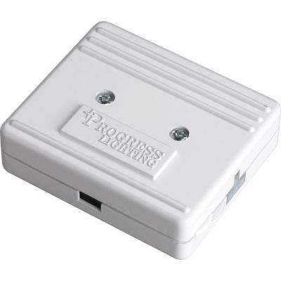Hide-A-Lite III White Direct Wire Junction Box