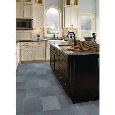 Montauk Blue 12 in. x 12 in. Gauged Slate Floor and Wall Tile (10 sq. ft. / case)
