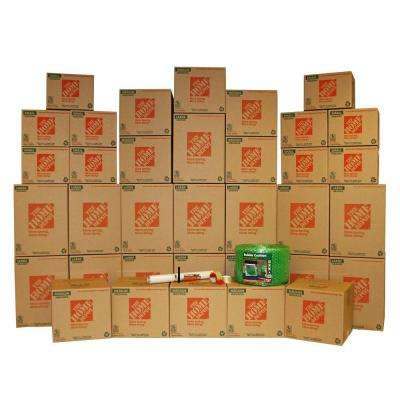 35 Box Medium Packing Kit