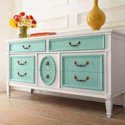1 qt. #PPU12-07 Spring Stream Interior Chalk Decorative Paint