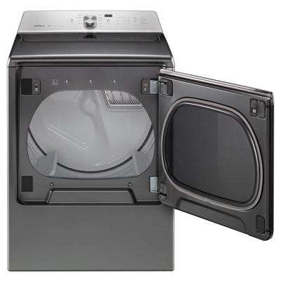 8.8 cu. ft. 240-Volt Metallic Slate Electric Vented Dryer with Advanced Moisture Sensing, ENERGY STAR