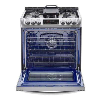 Slide In Smart Dual Fuel Electric Range With Probake