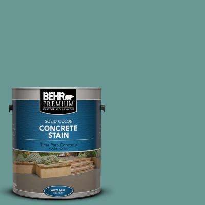 1-Gal. #PFC-48 Aqua Marble Solid Color Concrete Stain