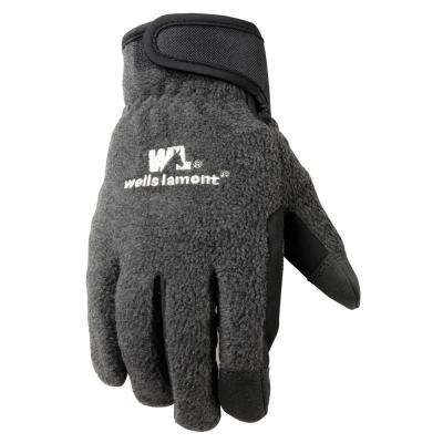 Extra-Large Insulated Fleece Back Cold Weather Gloves