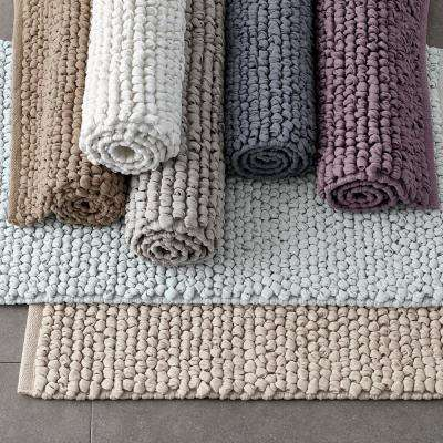 Cotton Twill Rubber Backed Bath Rug