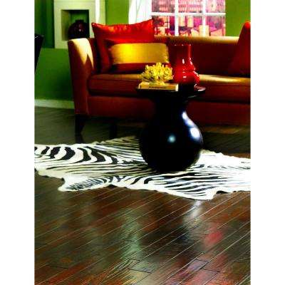 Hand Scraped Maple Chocolate 3/4 in. Thick x 3-1/4 in. Wide x Random Length Solid Hardwood Flooring (20 sq. ft. / case)