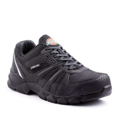Rook Men Black Work Shoe