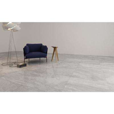 Antico Grey 36 in. x 36 in. Polished Porcelain Floor and Wall Tile (6 cases / 108 sq. ft. / pallet)