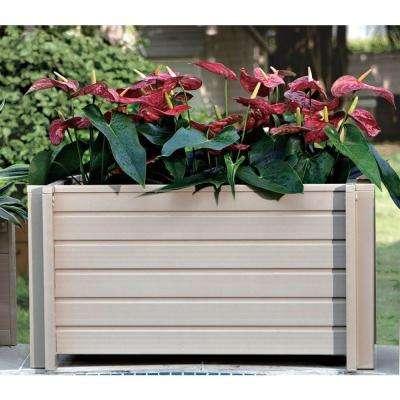 Rectangular 30 in. ECOFLEX Garden-Flower Planter