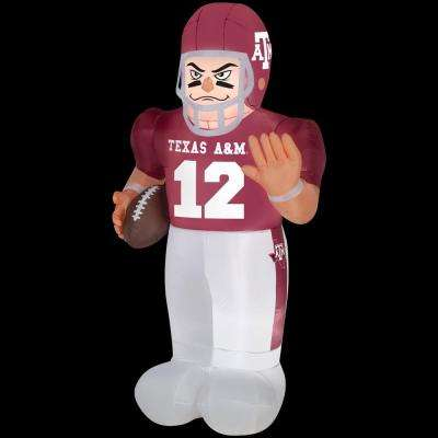 83.85 in. Inflatable Texas A&M Football Player