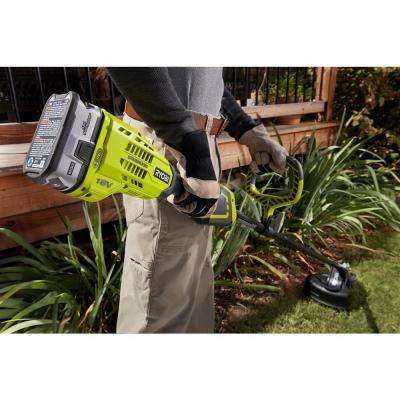 ONE+ 18-Volt Lithium-Ion Brushless Cordless Battery Electric String Trimmer (Tool Only)