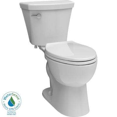 Turner 2-piece 1.28 GPF Elongated Toilet in White
