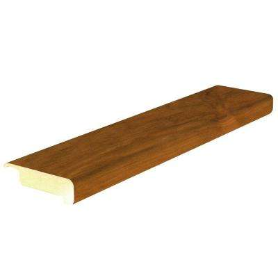 Toasted Alder 4/5 in. Thick x 2-2/5 in. Wide x 78-7/10 in. Length Laminate Stair Nose Molding