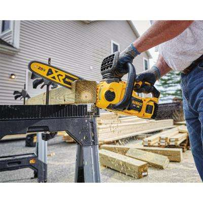 20-Volt MAX Lithium-Ion Cordless 12 in. Brushless Chainsaw w/ (1) 5.0Ah Battery and Charger
