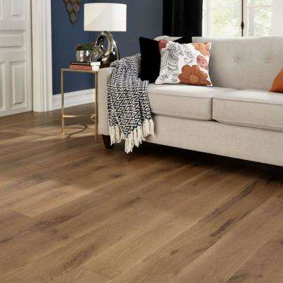 Castlebury Weathered Cottage Eurosawn 3/8 in. T x 6 in. W x Random Length Click Eng Hardwood Flooring (30.5 sq.ft./case)