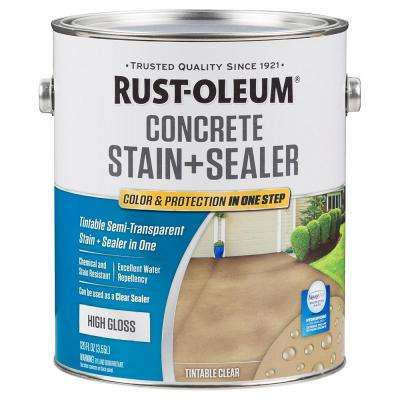 1 gal. Clear High Gloss Concrete Sealer (Case of 2)