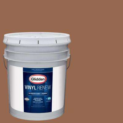 5 gal. #HDGO26U Artist's Copper Low-Lustre Exterior Paint with Primer