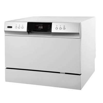 Energy Star Countertop Portable Dishwasher, 6 Place Setting LED, White
