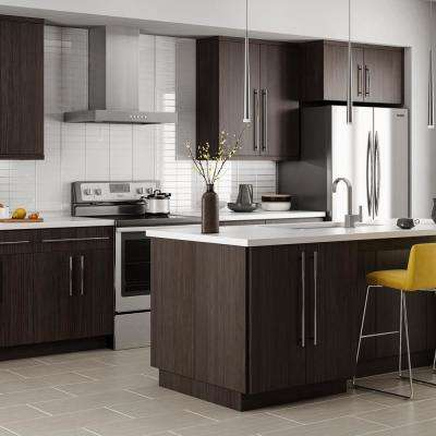 Edgeley Assembled 15x34.5x23.75 in. Drawer Base Kitchen Cabinet in Thunder