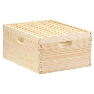 10-Frame Wooden Complete Hive
