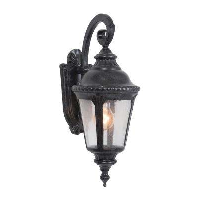 Columbus Collection 1-Light Stone Outdoor Wall Mount Lamp