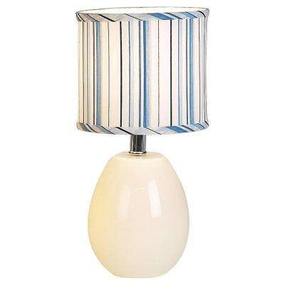 16 in. White Table Lamp