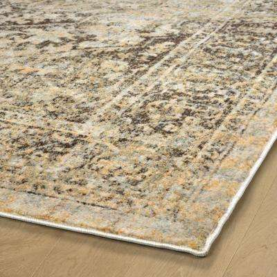 Tiziano Gold 2 ft. x 3 ft. Area Rug