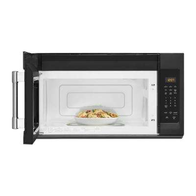 1.7 cu. Ft. Over the Range Microwave in Cast Iron Black