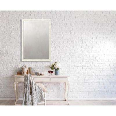Spaulding 27.375 in. x 39.375 in. Transitional Metallics Framed Antique Mirror