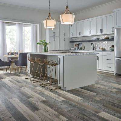 Outlast+ Highrock Grey Oak 10 mm Thick x 6.14 in. Wide x 47.24 in. Length Laminate Flooring (967.2 sq. ft. / pallet)